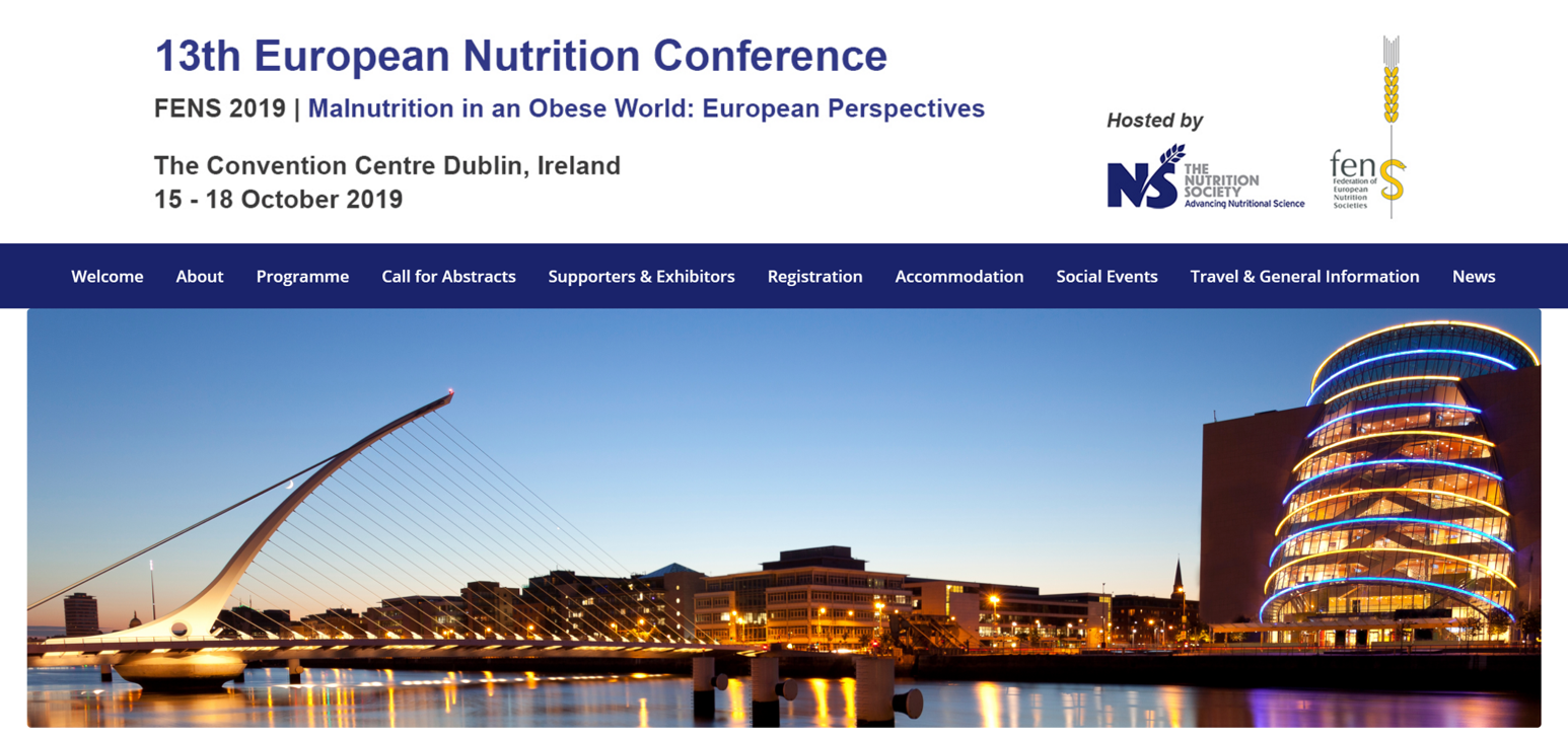 Link zur EUROPEAN NUTRITION CONFERENCE